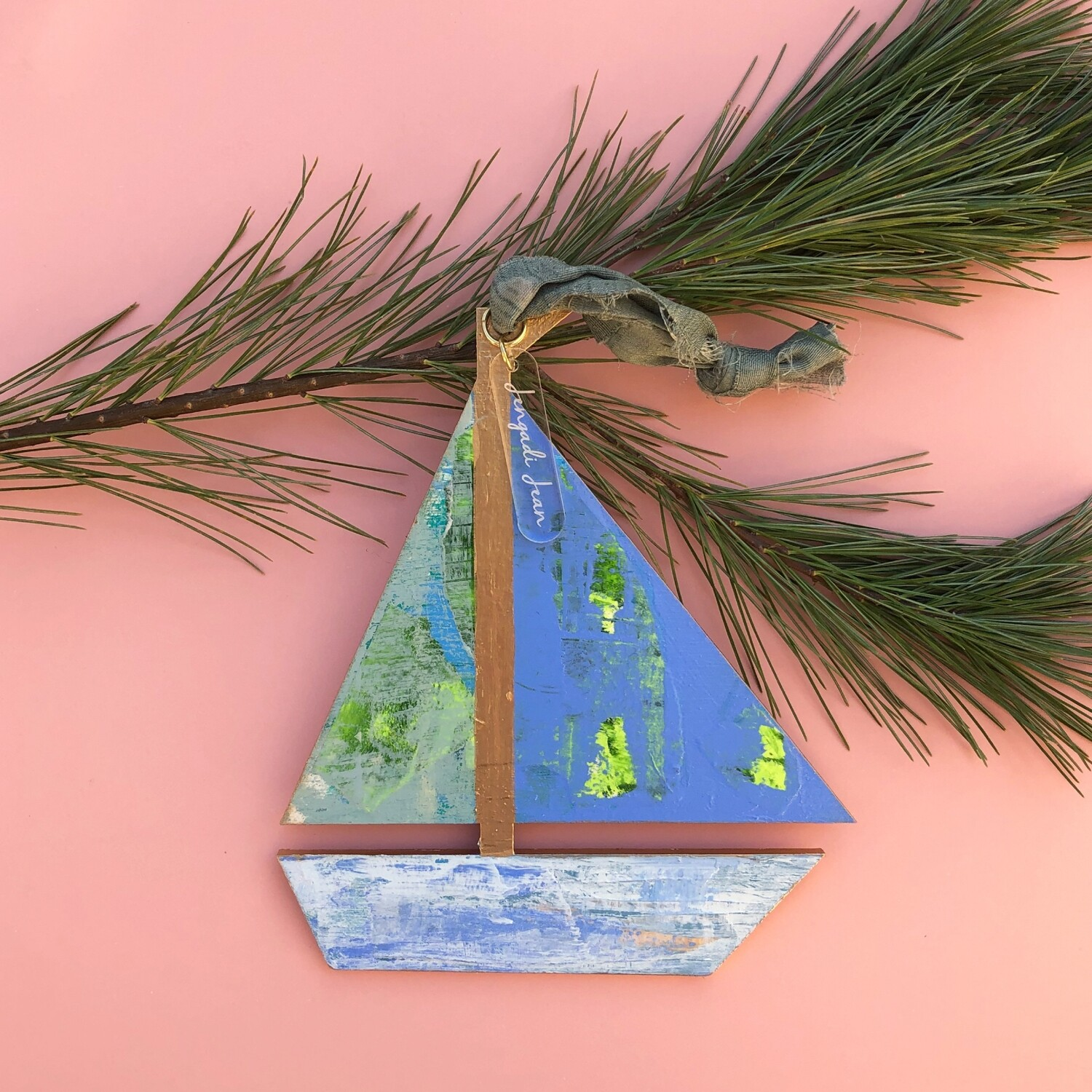 Sailboat Ornament #13
