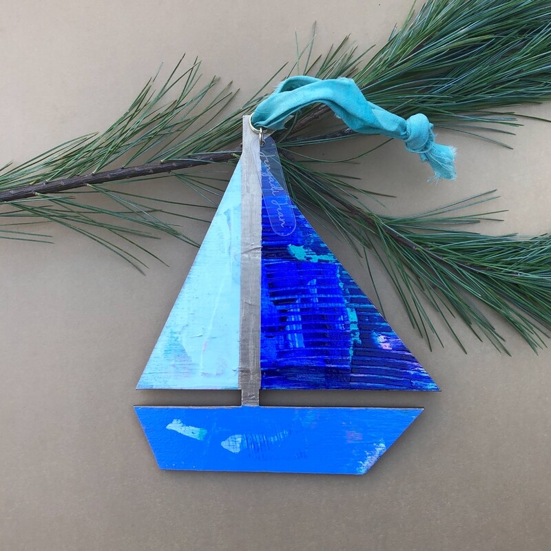 Sailboat Ornament #6