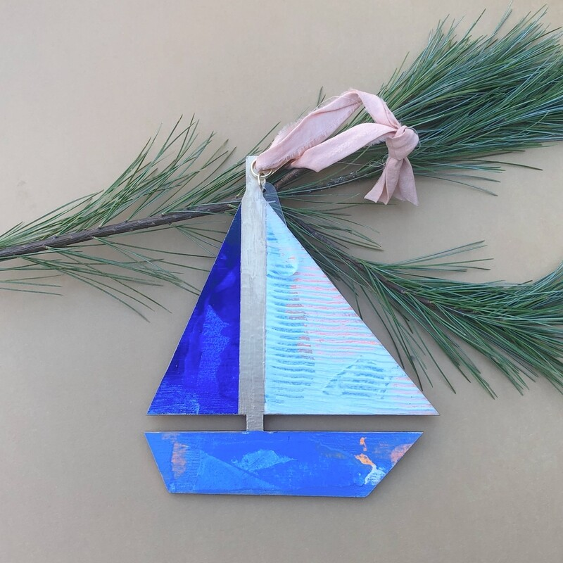 Sailboat Ornament #8