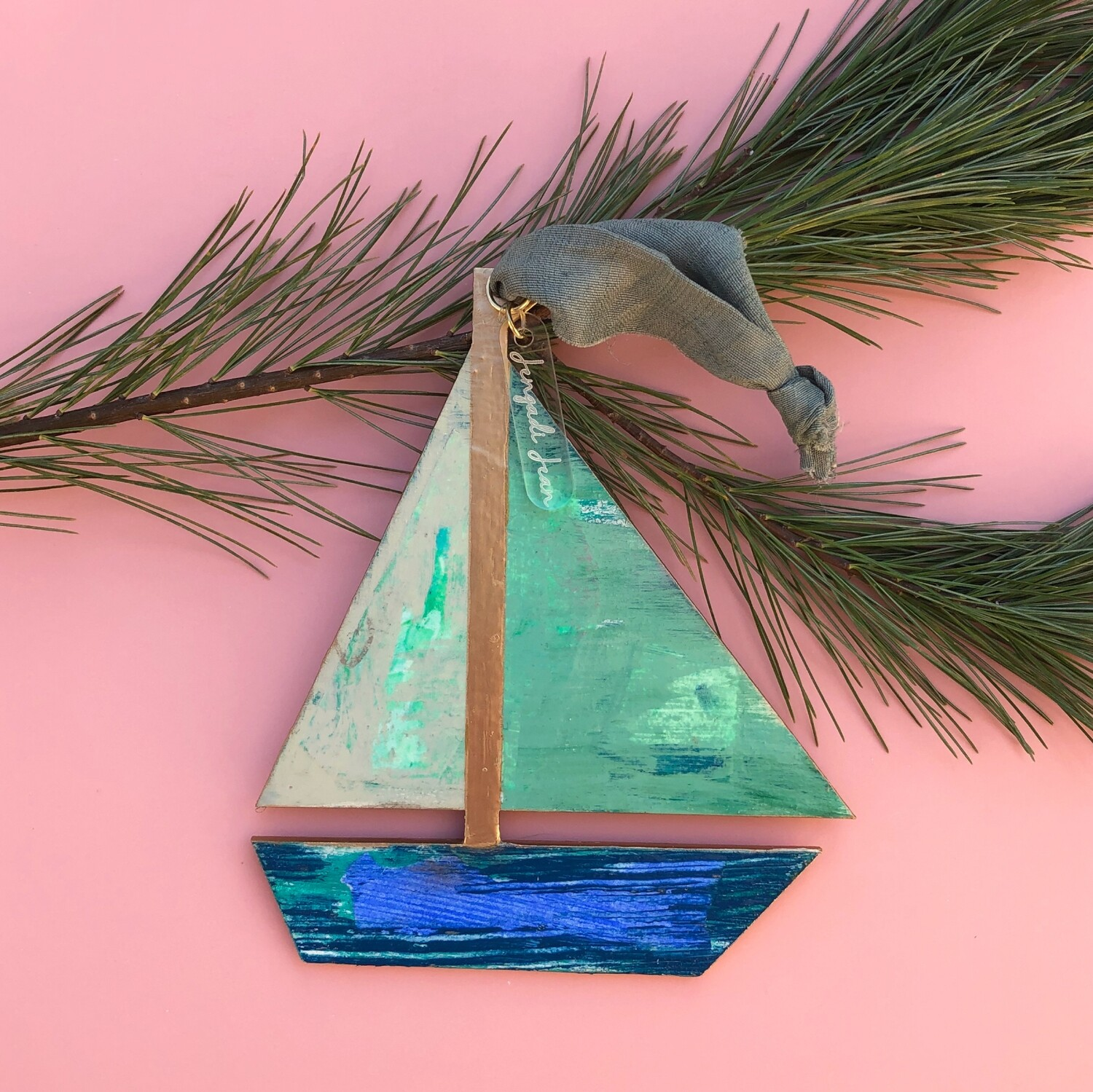 Sailboat Ornament No. 24