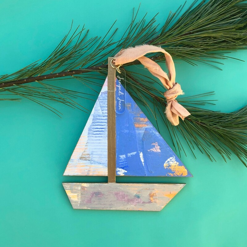 Sailboat Ornament #9