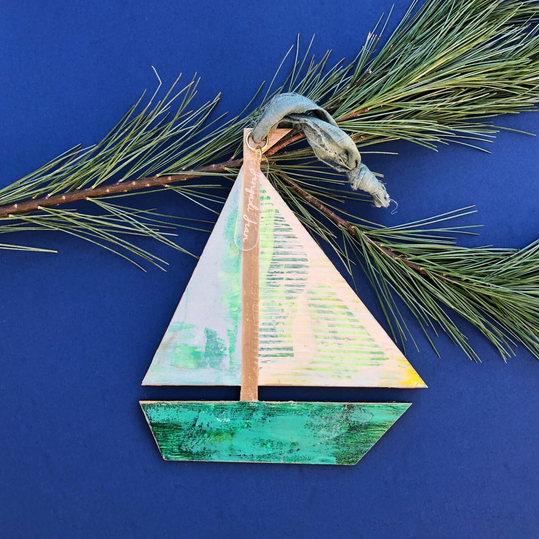 Sailboat Ornament #2
