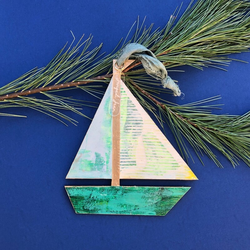 Sailboat Ornament #2