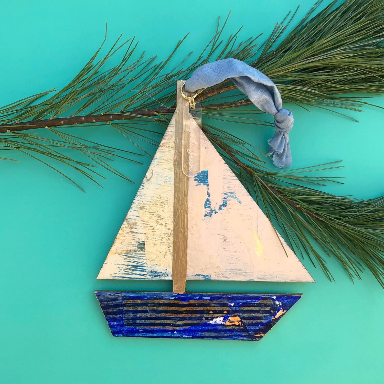 Sailboat Ornament #3