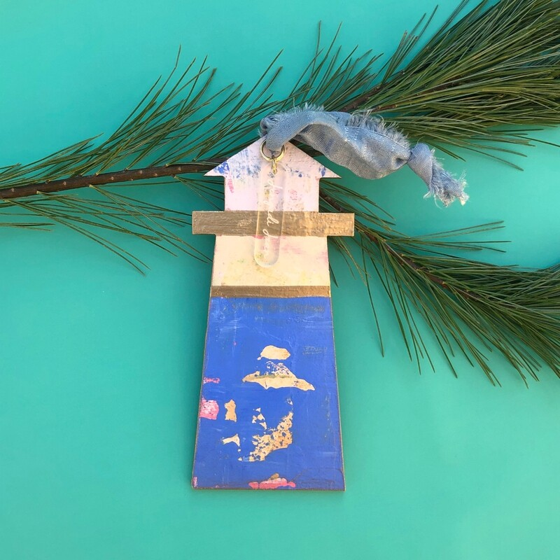 Lighthouse Ornament #21
