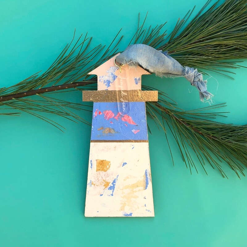 Lighthouse Ornament #16