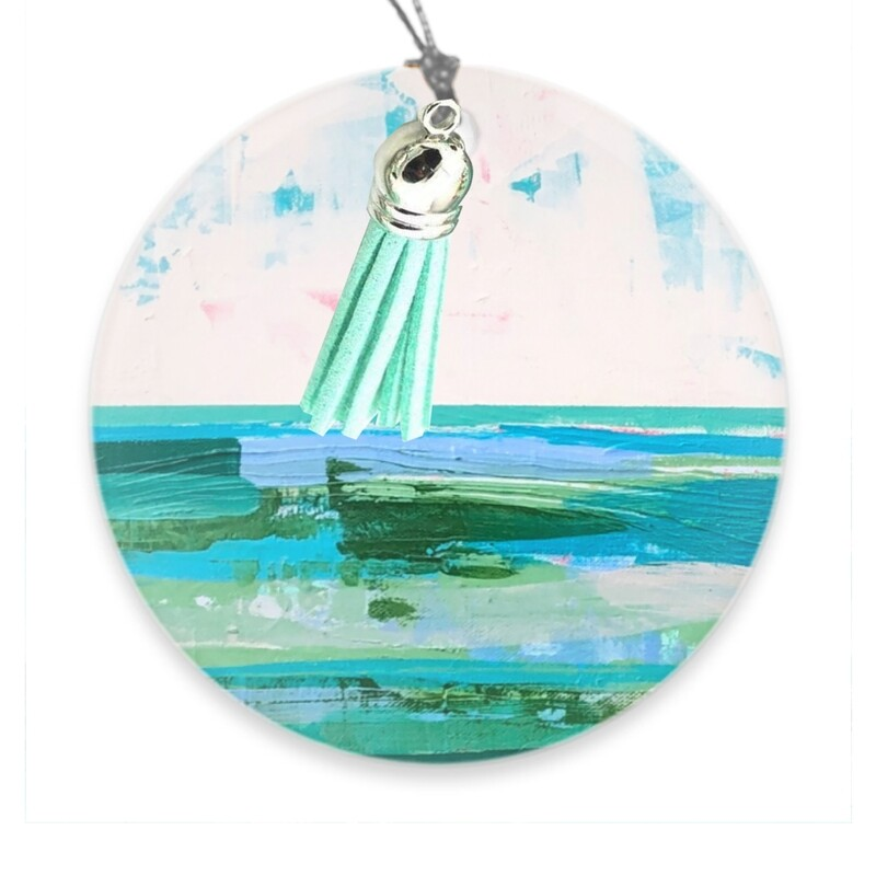 Seaweed Sunset Ornament Pre-Order