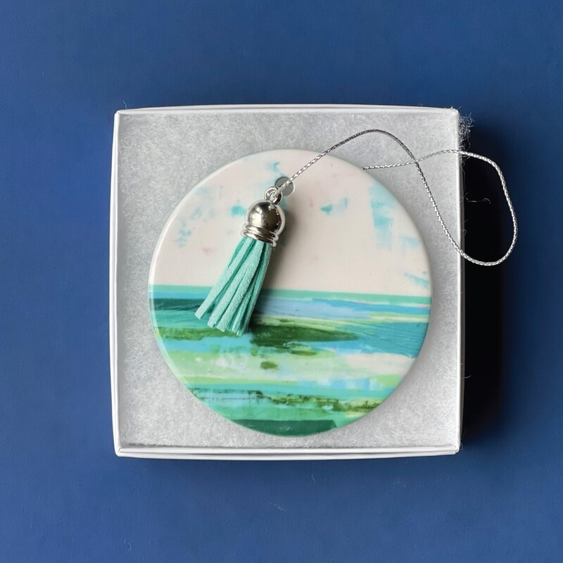 Seaweed Sunset Ornament