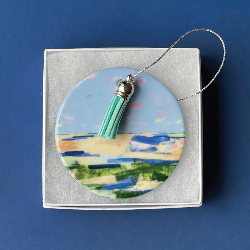 Nantucket Sound I Ornament