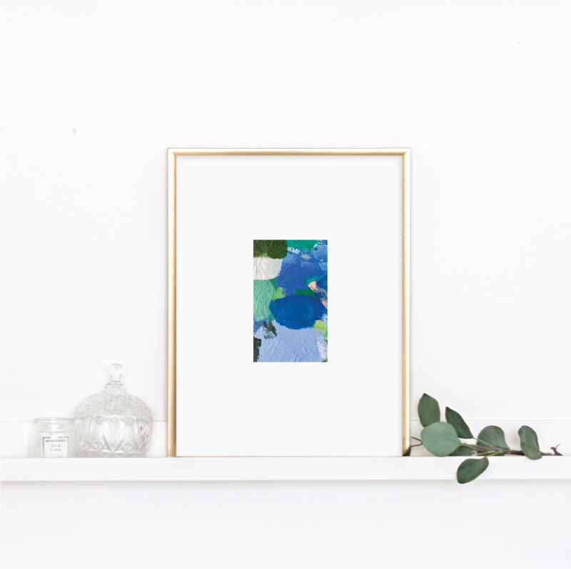 Matted Palette Print No. 8