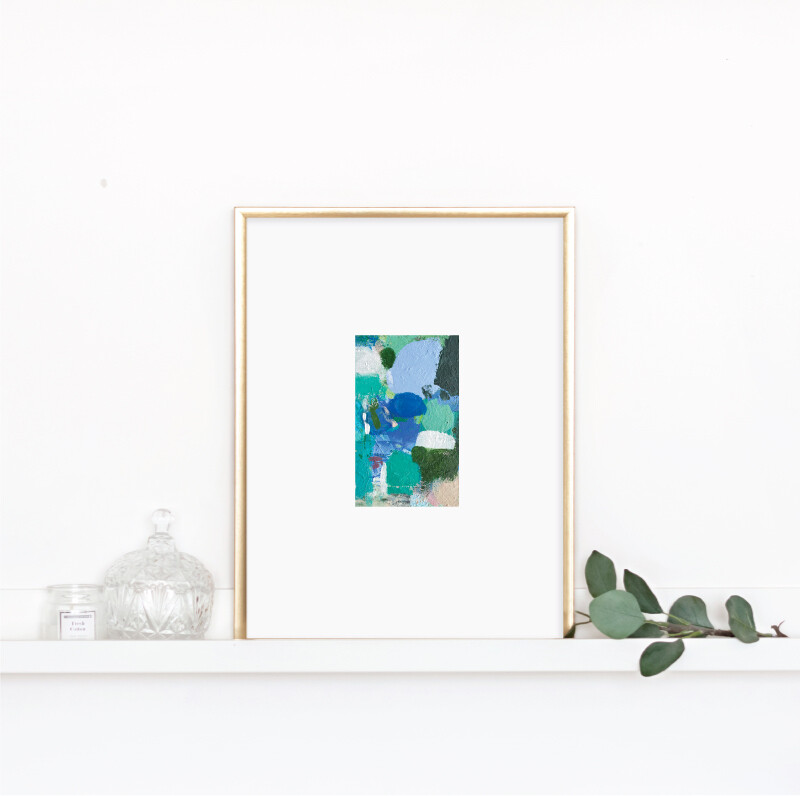 Matted Palette Print No. 7