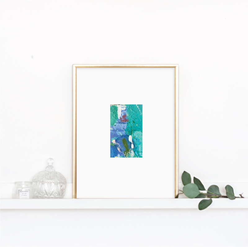 Matted Palette Print No. 11