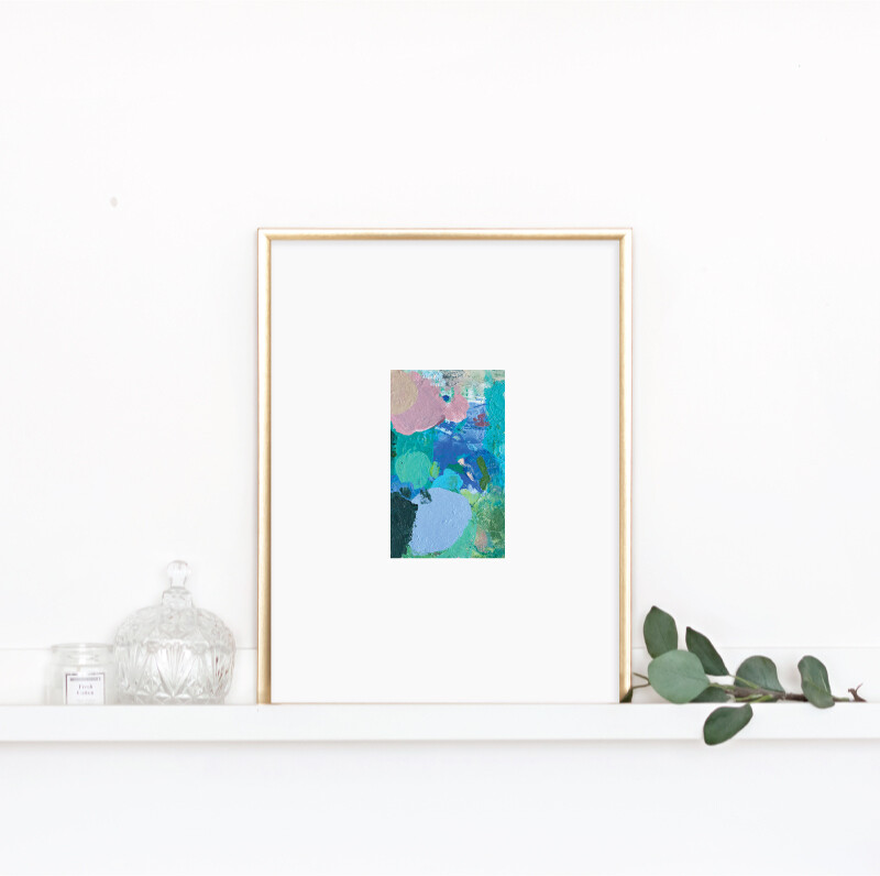 Matted Palette Print No. 12