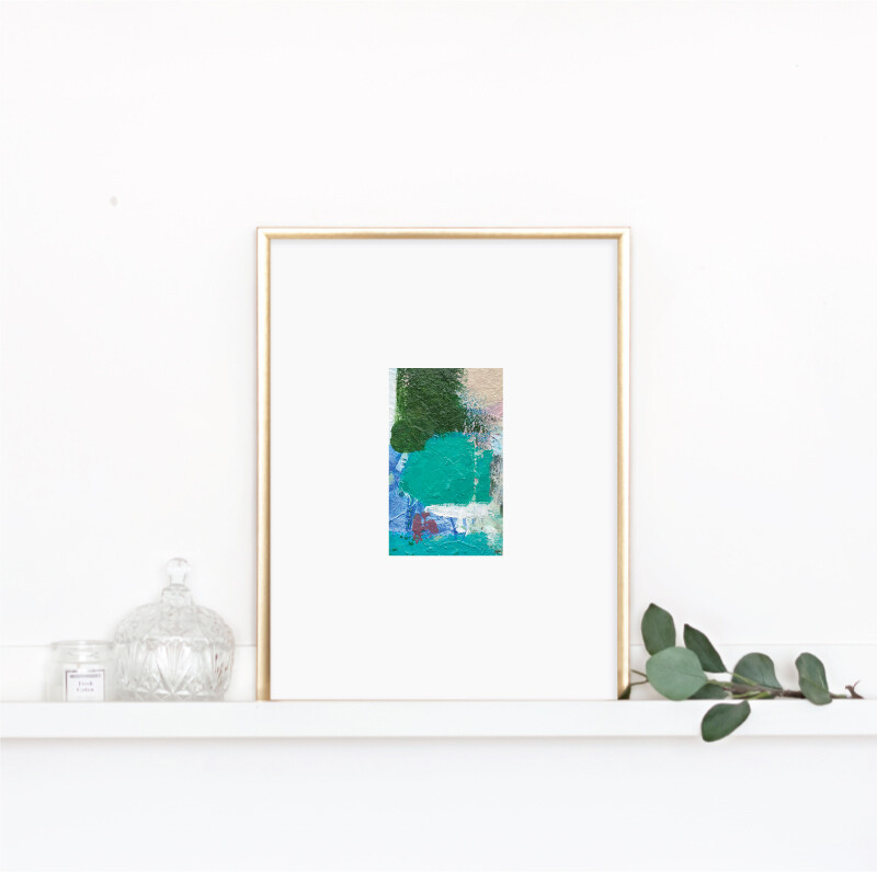 Matted Palette Print No. 10