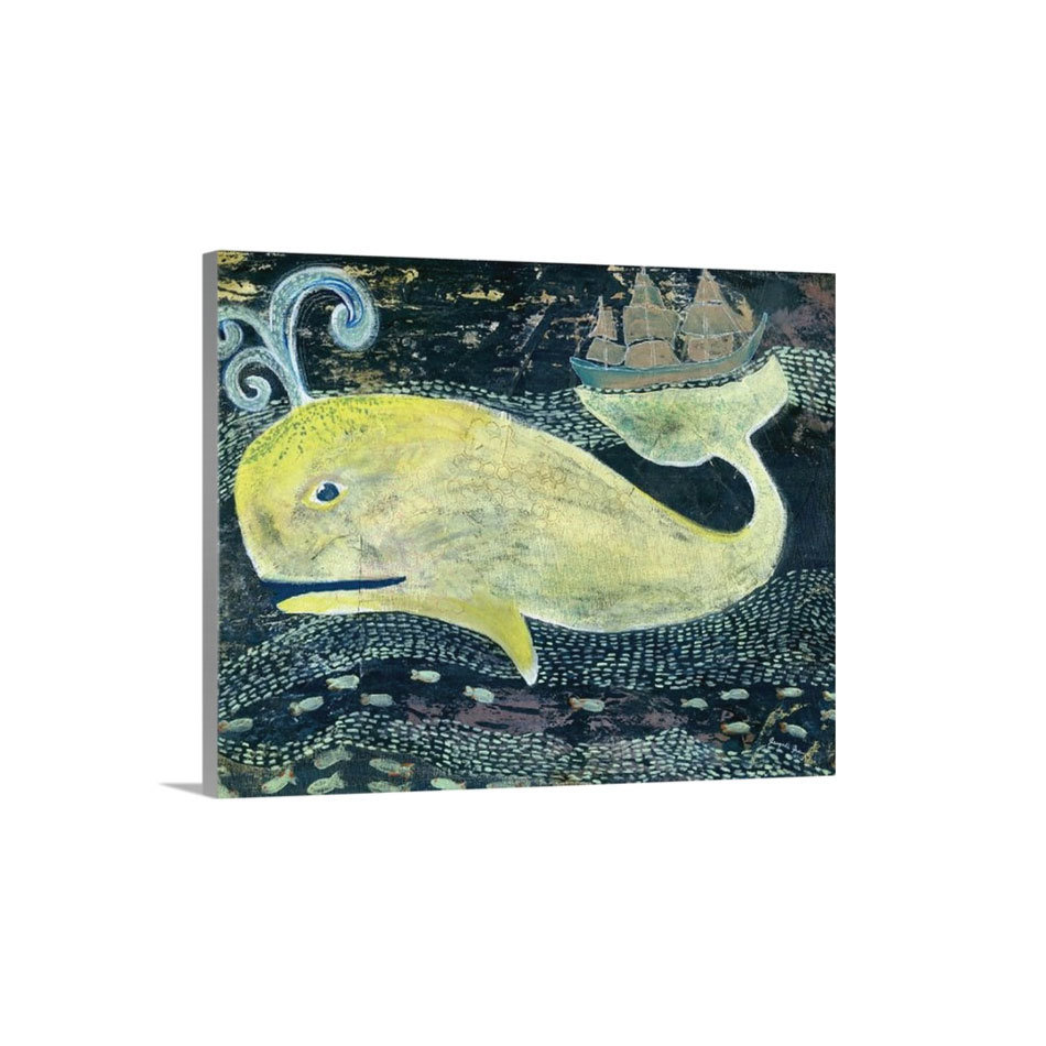 Jonah the Whale Canvas Reproduction (16 x 20)