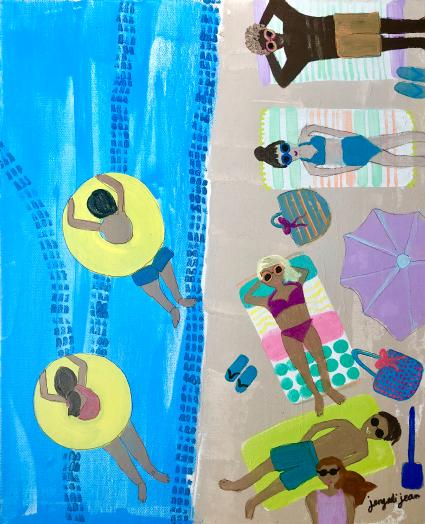 Beach Blues (16x20)