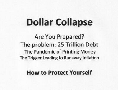 Dollar Collapse:   The Article