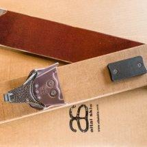 CLOSING SALE Three-pin bindings with screws & heel plate