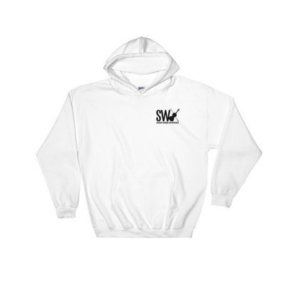 SWX pocket black logo Hooded Sweatshirt