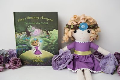 Amy Gift set Bundle (Book + Doll) <3