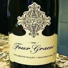 RETAIL  - Four Graces Pinot Gris, semi sweet white, Oregon
