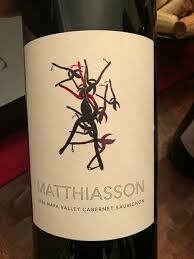 RETAIL  - Luxury wine - Mathiasson Dead Fred Vineyard Cabernet Sauvignon 2016