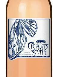 RETAIL  - Cicada's Song Rose' of Tibouren, Rolle, Cinsault, Coteaux D'Aix En Provence, France