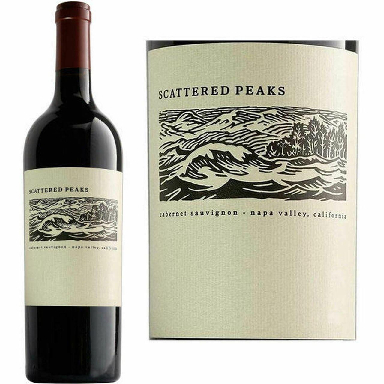 RETAIL  -Scattered Peaks Cabernet, Napa California