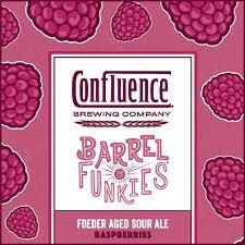 Confluence Barrel of Funkies - Raspberry Sour