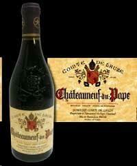 RETAIL  - Luxury wine -Comte de Lauze Chateaneuf du Pape 2015