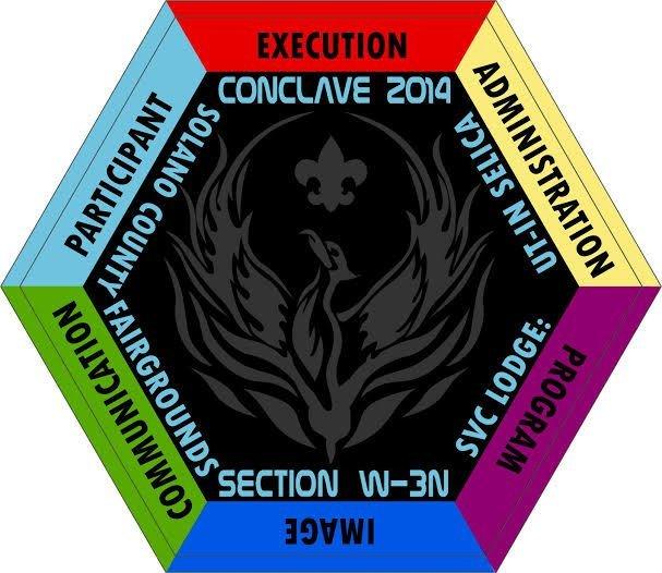Conclave 2014- Center Patch