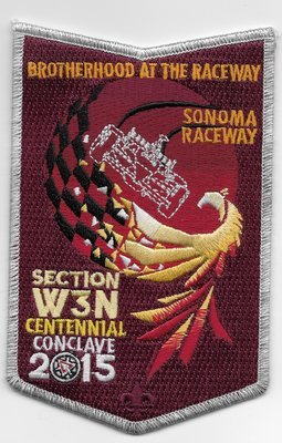 Conclave 2015- NOAC Attendee Patch