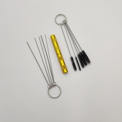 Airbrush - Set of 3 tools for depth airbrush cleaning