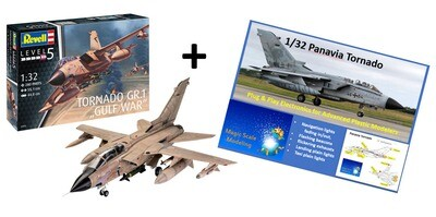 Combo Revell 1/32 Panavia Tornado + Plug and Play Electronic light set