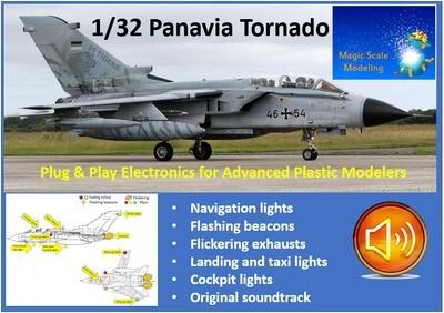 Panavia Tornado - With Sound - 1/32
