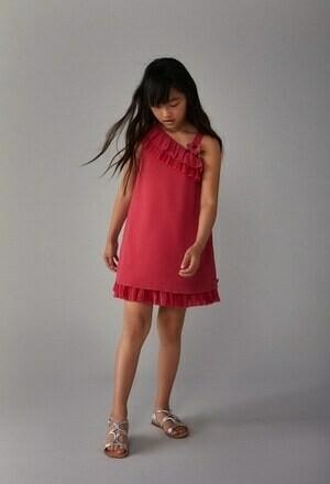 Vestido fucsia
