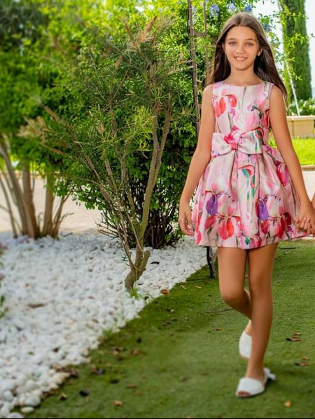 Vestido de Atelier de Candela flores