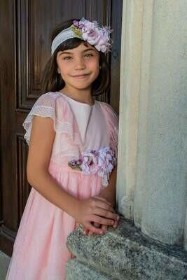 Vestido tul rosa Atelier de Candela