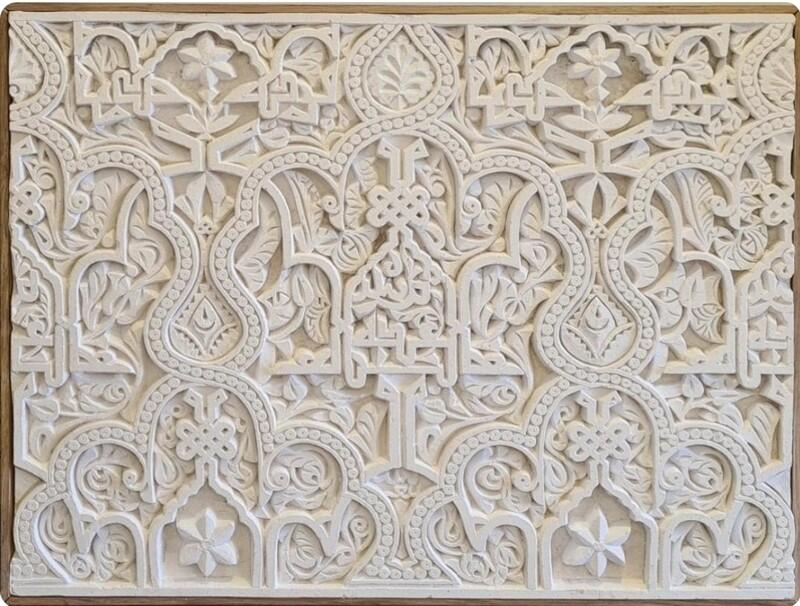 Nasrid palace plaque