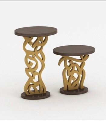 Bespoke side table set