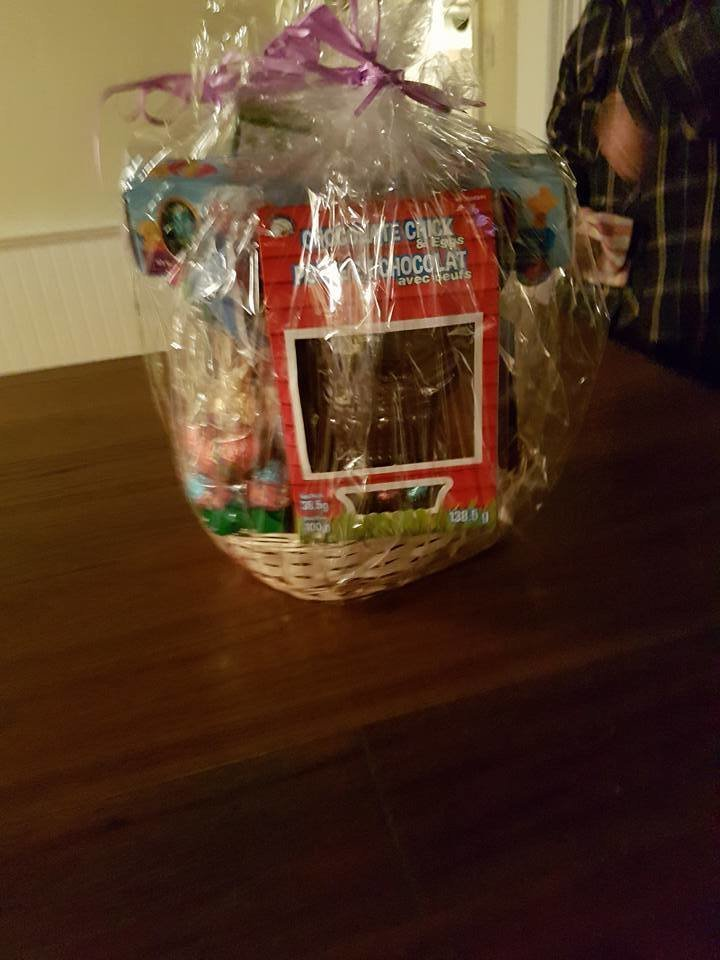 Easter Basket Draw