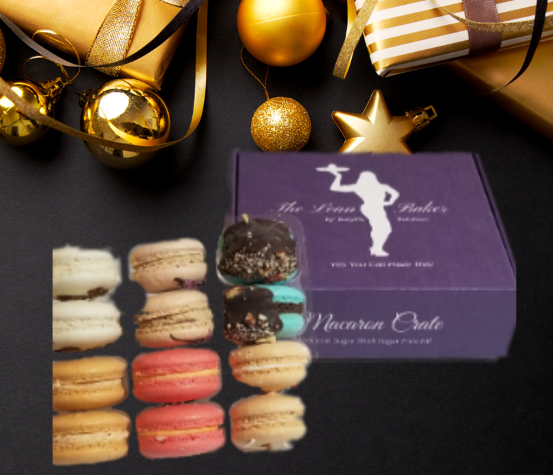 Macaron Crate -Holiday Box
