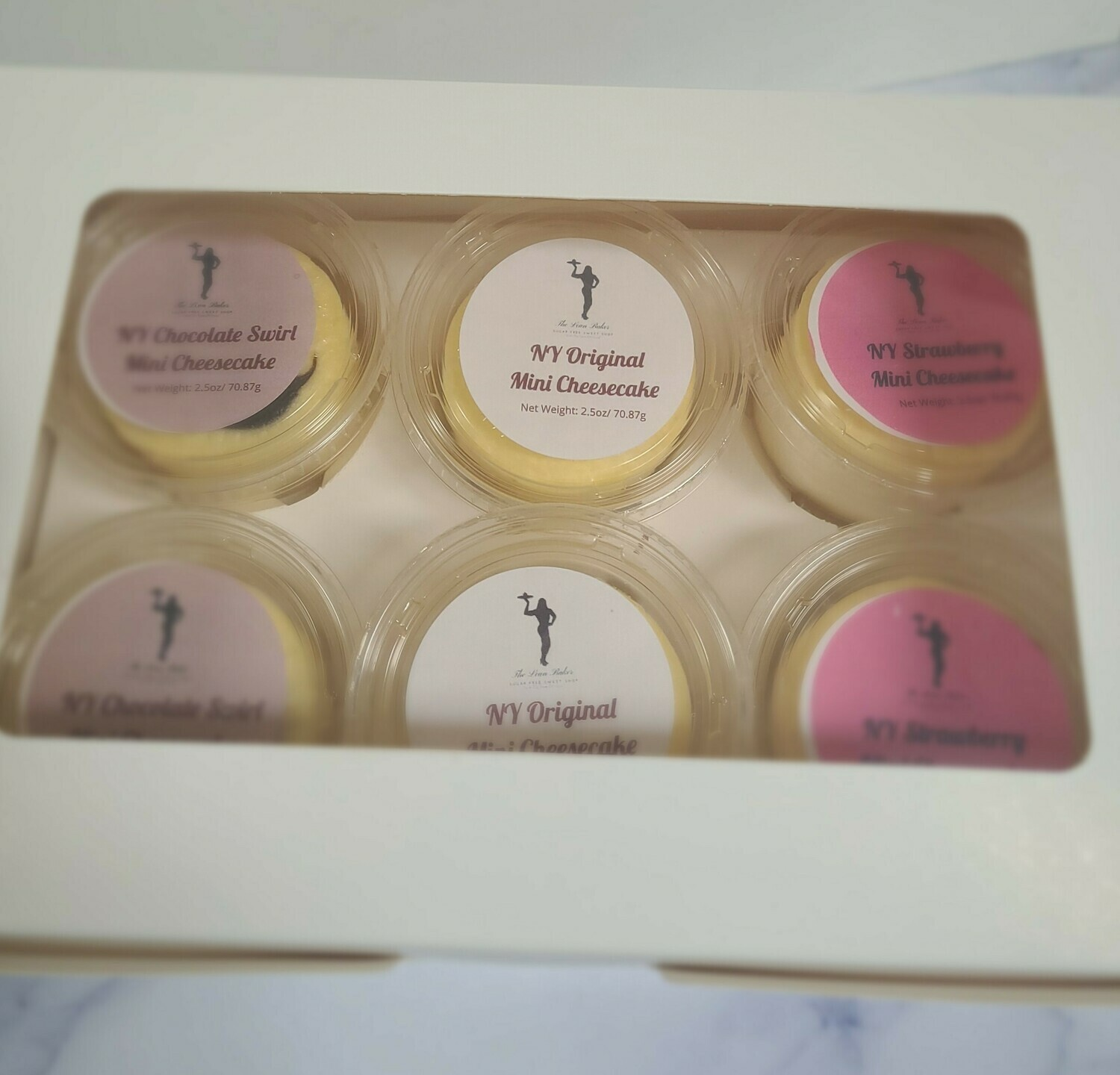 Sugar Free NY Style Mini Cheesecake Sample Box