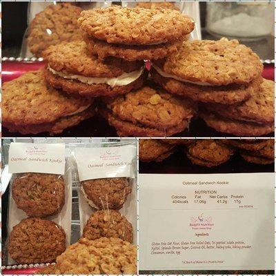 Oatmeal Kookie Sandwich (GF)