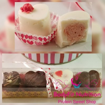 Protein Chocolate Truffle Box (4 pc)