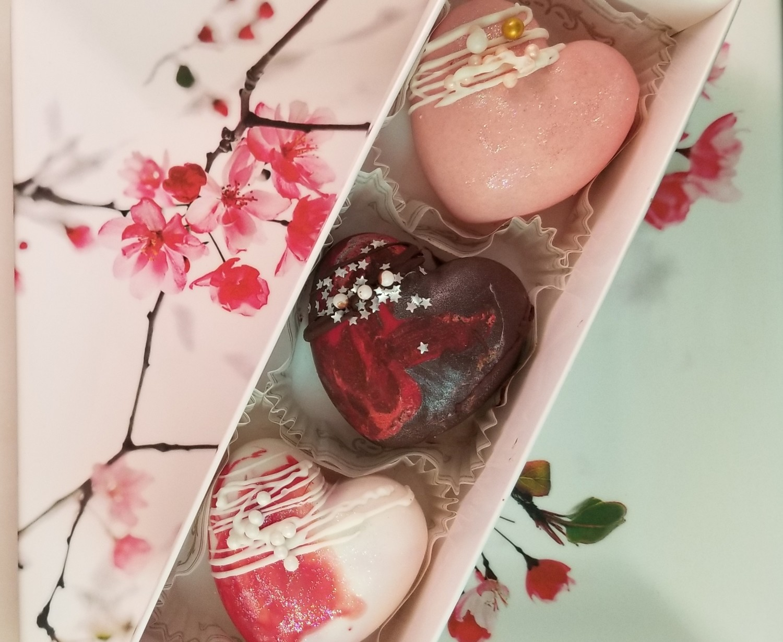Chocolate Heart Set