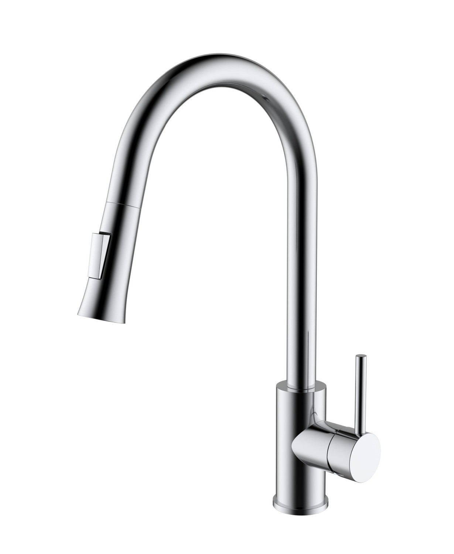 Brass - Single Handle Kitchen Faucet - Classic
