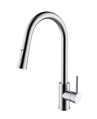Brass - Single Handle Kitchen Faucet - Classic