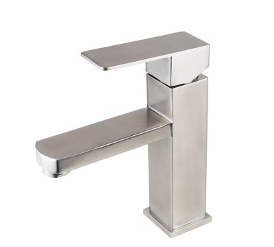 Stainless Steel - Single Handle Faucet