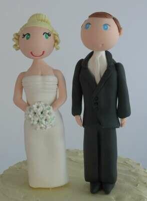 Standard Wedding Couple (minimal customisation)